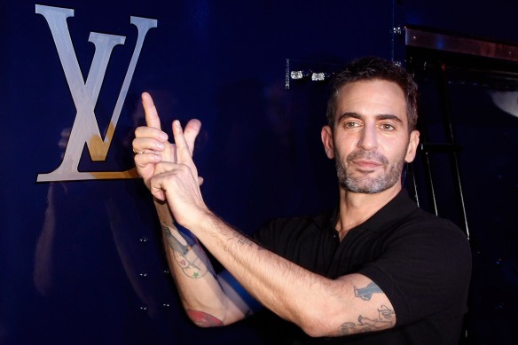 FILE - Marc Jacobs to Leave Louis Vuitton